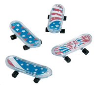 Picture of PATRIOTIC MINI SKATEBOARD