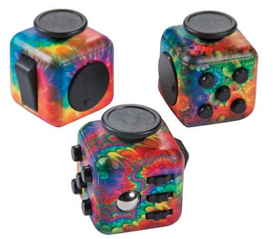 Picture of RAINBOW FIDGET BUSY BLOCK